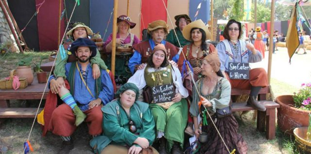 Renaissance Festivals are a great place for story ideas